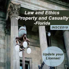 Florida - 5-hour Law and Ethics - Property and  Casualty (INSCE019FL5e)