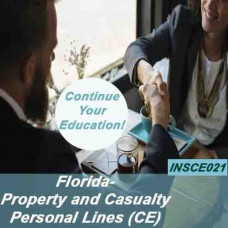 Florida: 6hr CE Property and Casualty - Personal Lines (INSCE021FL6)