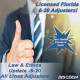 Florida: 5hr Law & Ethics Update - 6-20 Adjusters (5-620)  CE Course (INSCE024)