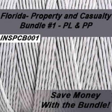 Florida - INSPCB001 Property and Casualty Bundle #1 - PL & PP