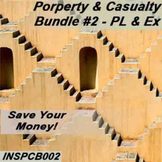 INSPCB002 Property and Casualty Bundle #2 - PL & Ex