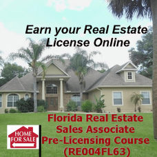 Florida: Real Estate Sales Associate Pre-Licensing Course (RE004FL63)